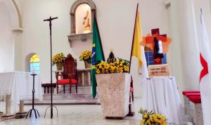 Peregrinação da Cruz de São Camilo em seus 100 anos de Fundação no Brasil.
